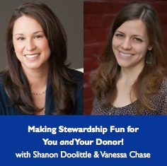 Shanon Doolittle and Vanessa Chase on Stewardship!