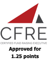 CFRE approved for 1.25 credits